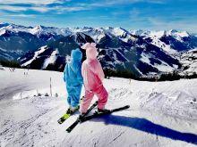 Mädels aus der 5a im Skizirkus Saalbach